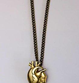 Model Citizen MC.HeartNecklace.Brass