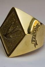 MC Biker Ring Brass
