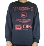 CROOKS - L/S Top Recognition NAVY