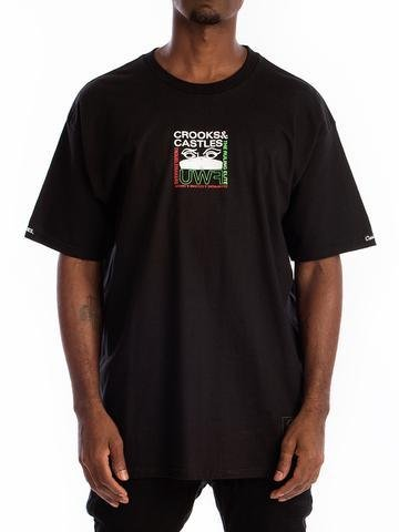 CROOKS - T-shirt Components BLACK