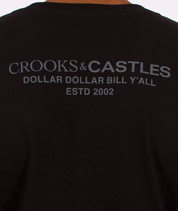 CROOKS - T-Shirt Get Paid BLACK