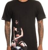 CROOKS - T-shirt La Femme BLACK