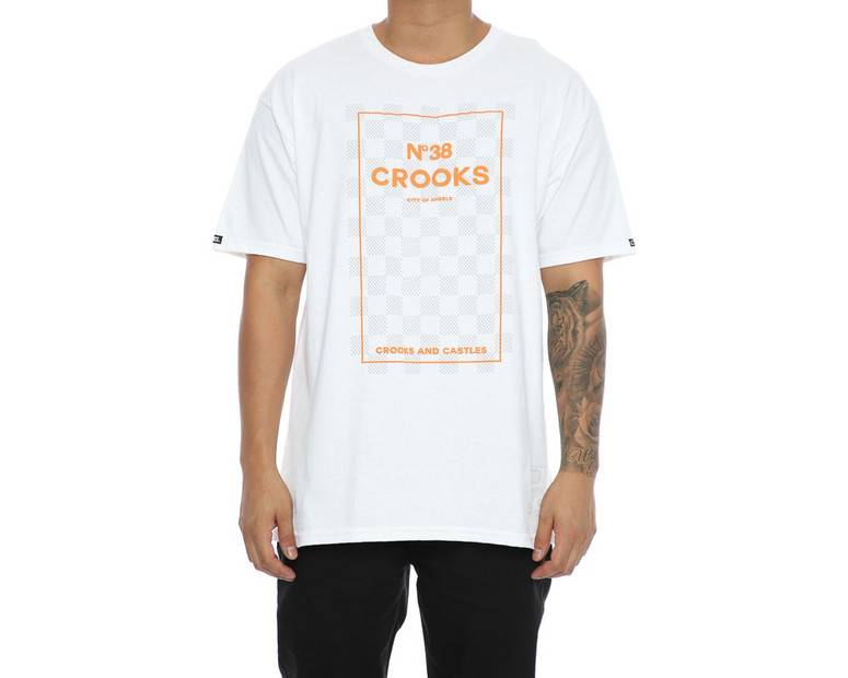 CROOKS - T-shirt No. 38 Checkered