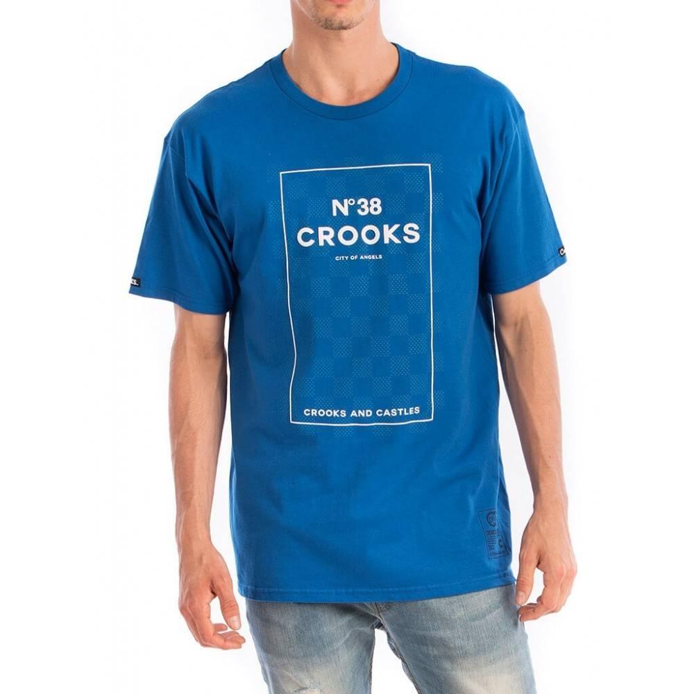 CROOKS - T-shirt No. 38 Checkered