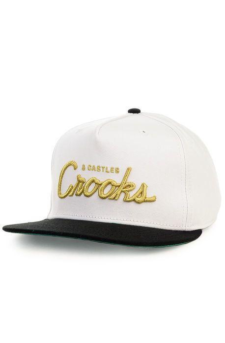 CROOKS - Woven Snapback Team Crooks
