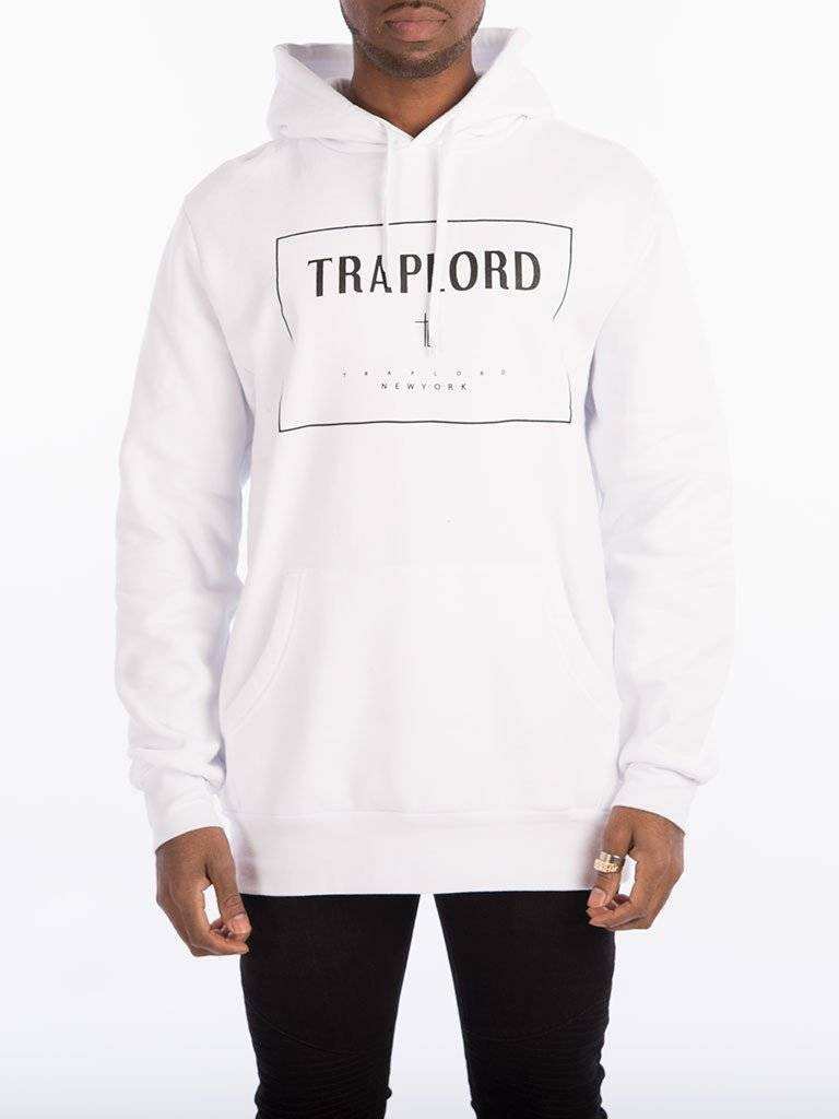 TRAPLORD - Knit Pullover Box WHITE