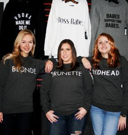 BRUNETTE THE LABEL - Redhead Crew