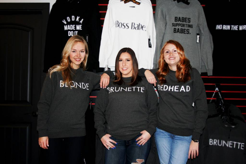 BRUNETTE THE LABEL - Blonde Crew