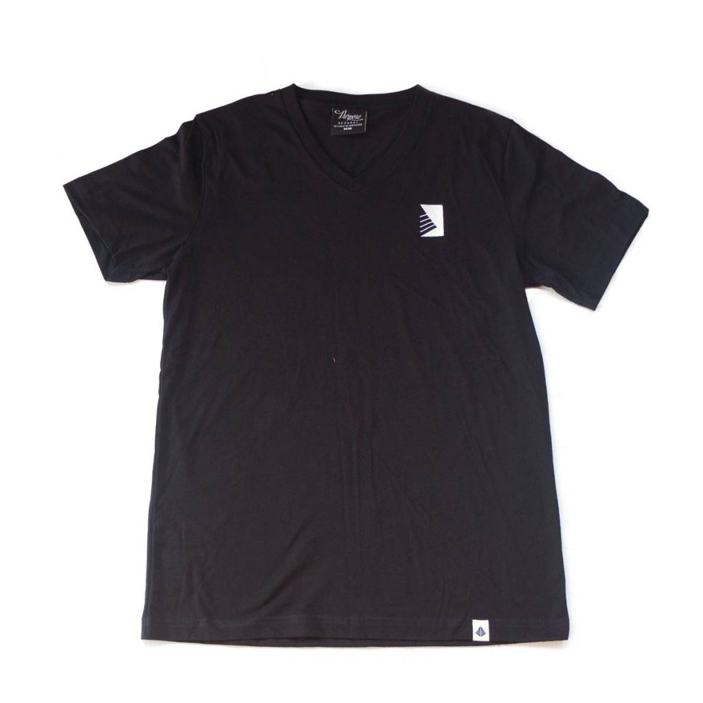 PURPOSE - Half Maz V-Neck Black
