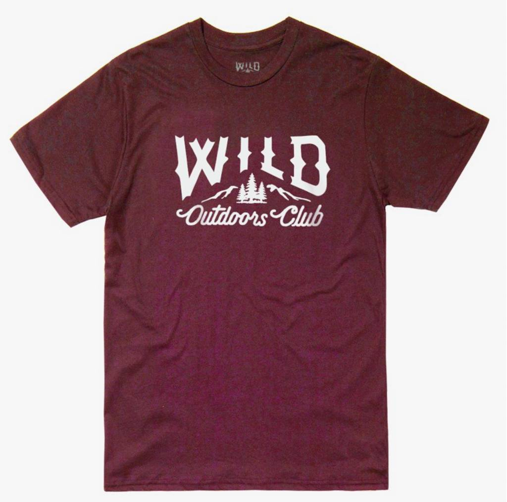 WILD OUTDOORS CLUB - Classic Logo Tee