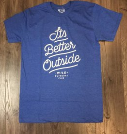 WILD OUTDOORS CLUB - It's Better Outside Tee