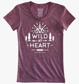 WILD OUTDOORS CLUB - Wild At Heart Woman's Tee