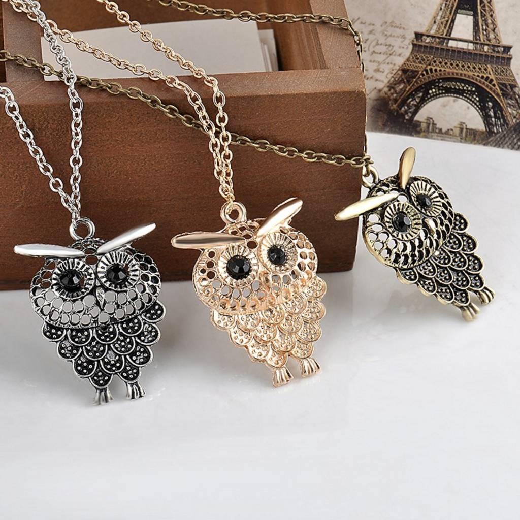 YANKUN - Vintage Owl Pendant