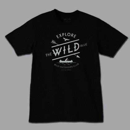 WILD OUTDOORS CLUB - Wild Blue Tee