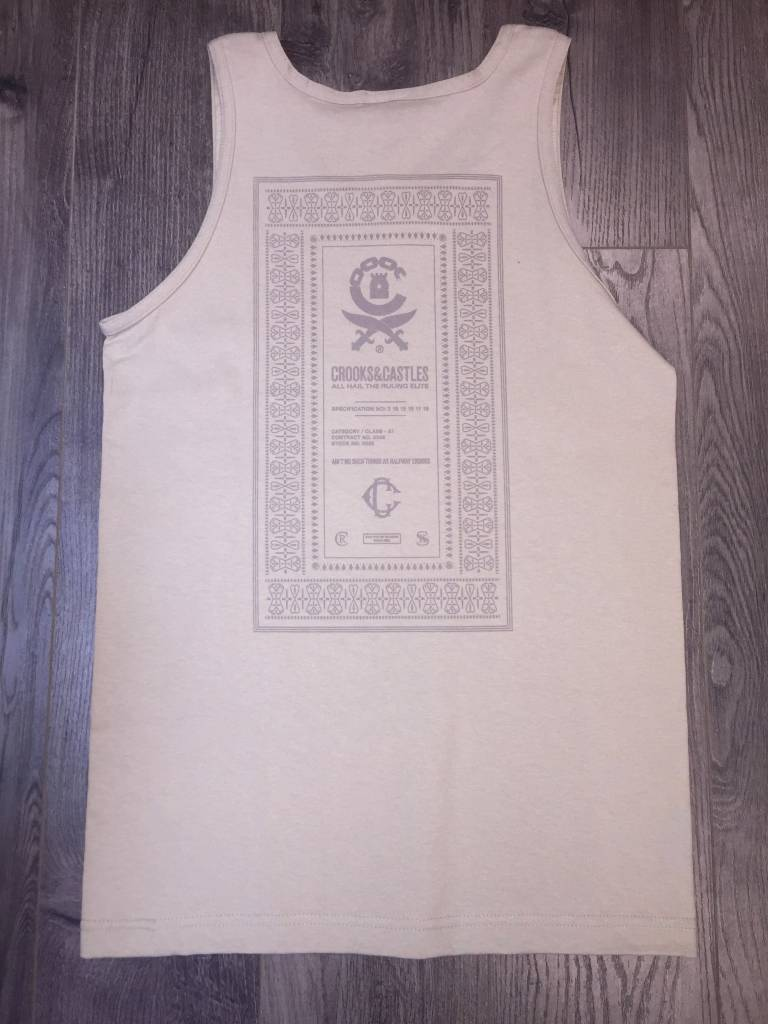 CROOKS - Classified Knit Tank Top