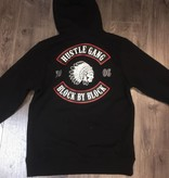 HUSTLE GANG - Block By Block Hooded Pullover