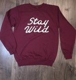 WILD OUTDOORS CLUB - Stay Wild Crewneck