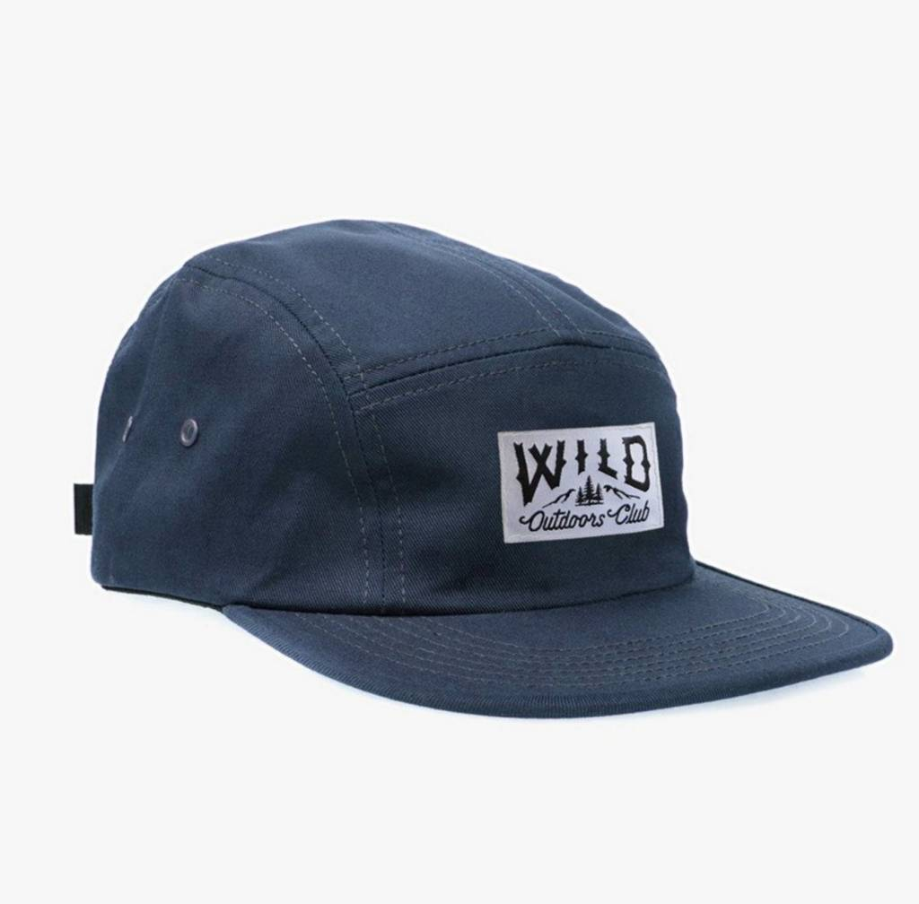 WILD OUTDOORS CLUB - Five Panel Hat