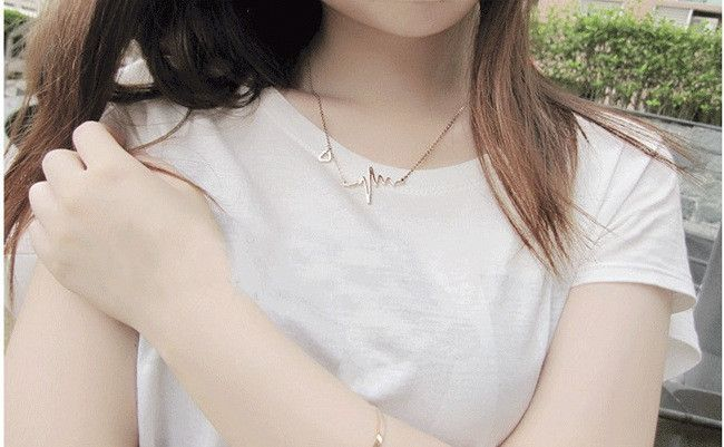 Heart Wave Necklace