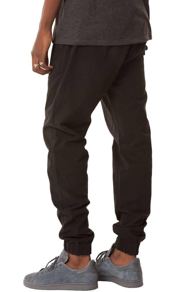 ELWOOD - Black Chino Joggers