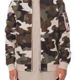 ELWOOD - Camo Nylon Bomber Jacket