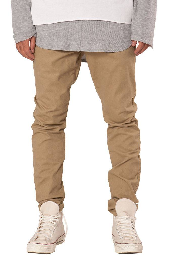 ELWOOD - Tapered Stretch Twill Chino