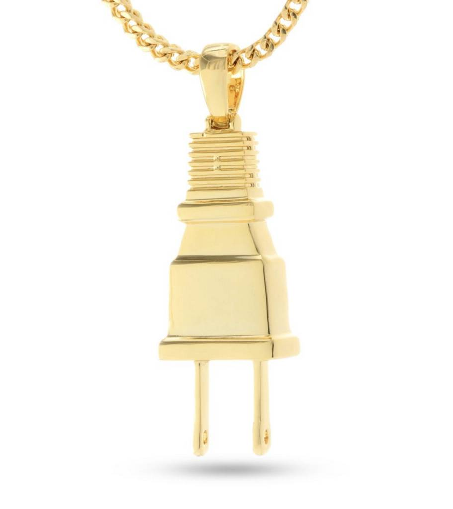 KING ICE - 14K Gold Empire Plug