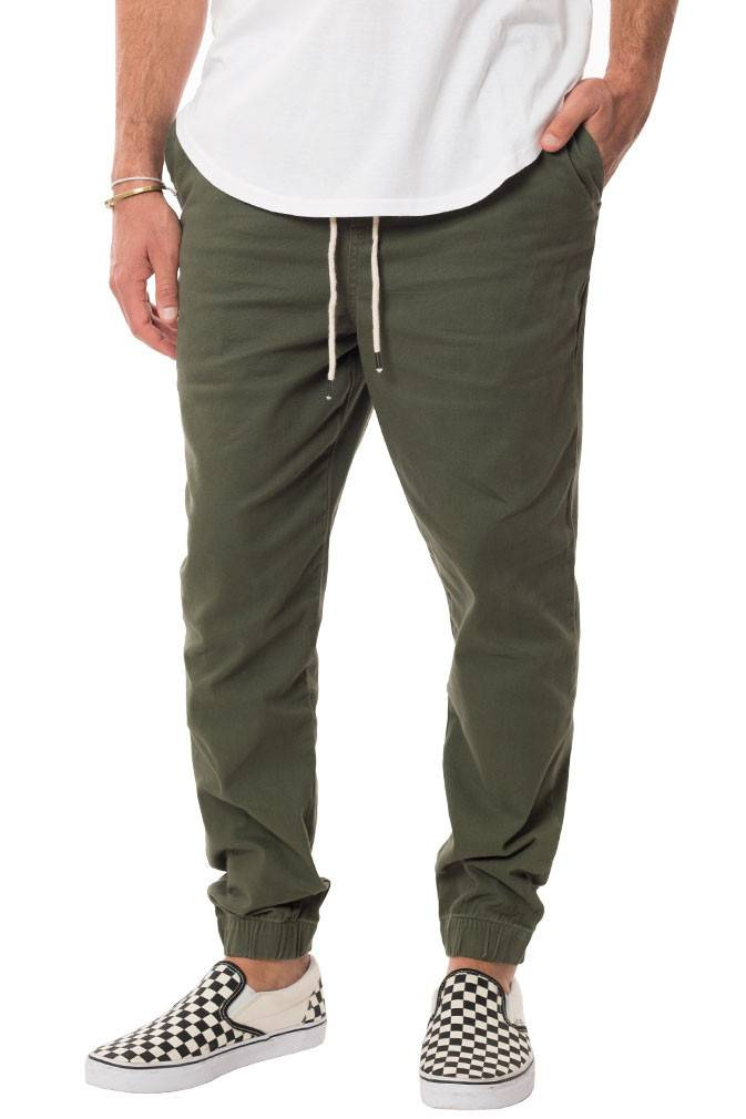 ELWOOD - Stretch Twill Jogger Pant