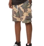ELWOOD - Washed Camo Terry Cargo Short