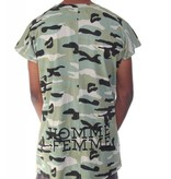 HOMME + FEMME - Muscle T-Shirt