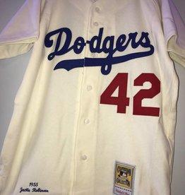 MLB 1955 DODGERS/ J Robinson #42 L