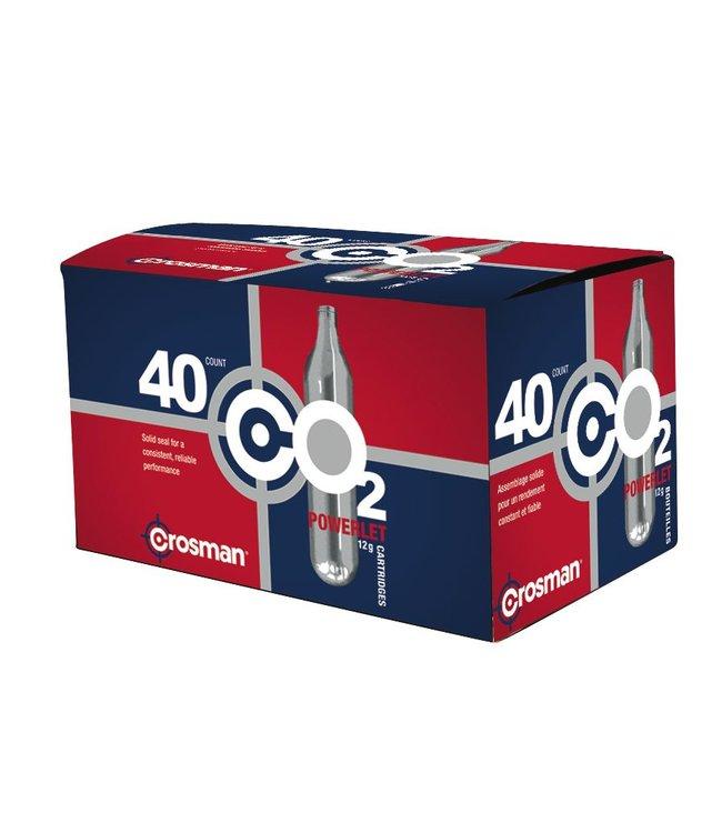 Crosman Crosman CO2 12g - 40ct