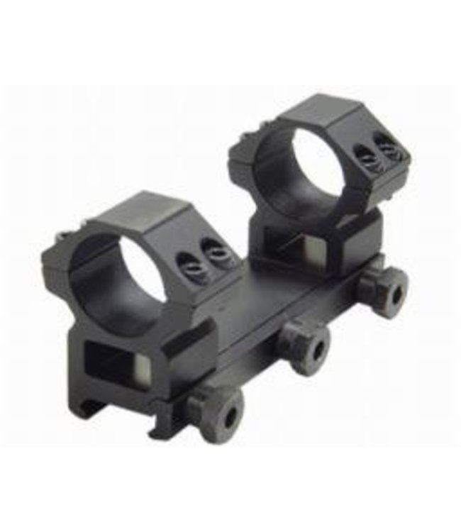 "UTG Accushot 1-Pc Mount, 1"" Rings, Medium, Weaver"