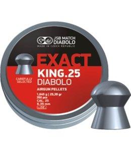 JSB Match Diabolo JSB Match Diabolo Exact King .25 Cal, 25.4g