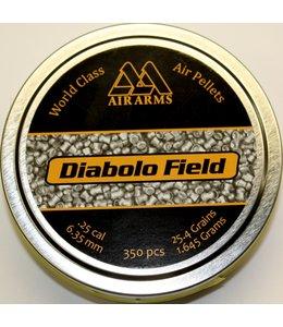 Air Arms Diabolo Field .25 Cal, 25.4gr
