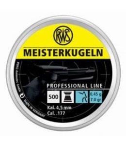 RWS RWS Meisterkugeln Pistol Line .177 Cal, 7.0gr