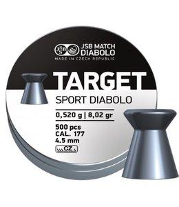 JSB Match Diabolo JSB Diabolo Target Sport .177 Cal, 8.02 gr