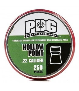 PDG Pellets PDG Hollowpoint .22 Cal, 18gr