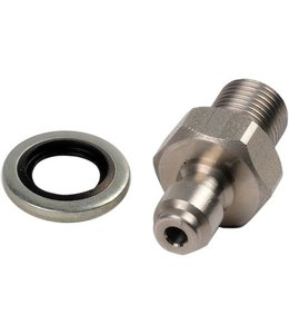 "Best Fittings 1/8"" BSP Male Quick-Disconnect"