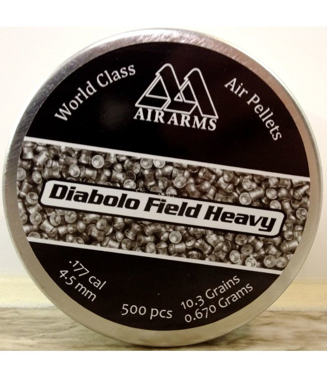 Air Arms Air Arms Diabolo Field Heavy .177 Cal, 10.3gr