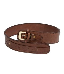 "Gun Belt 36""-40"" Waist - Chocolate"