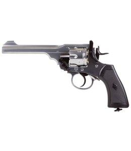 Webley & Scott Webly MKVI Pellet Revolver - Silver FInish