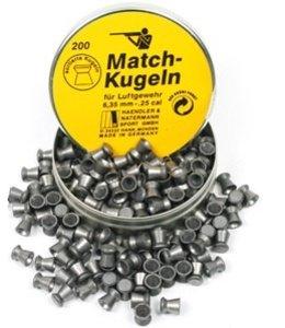 H&N H&N Match-Kugeln .25 Cal. 21.3gr - 200ct