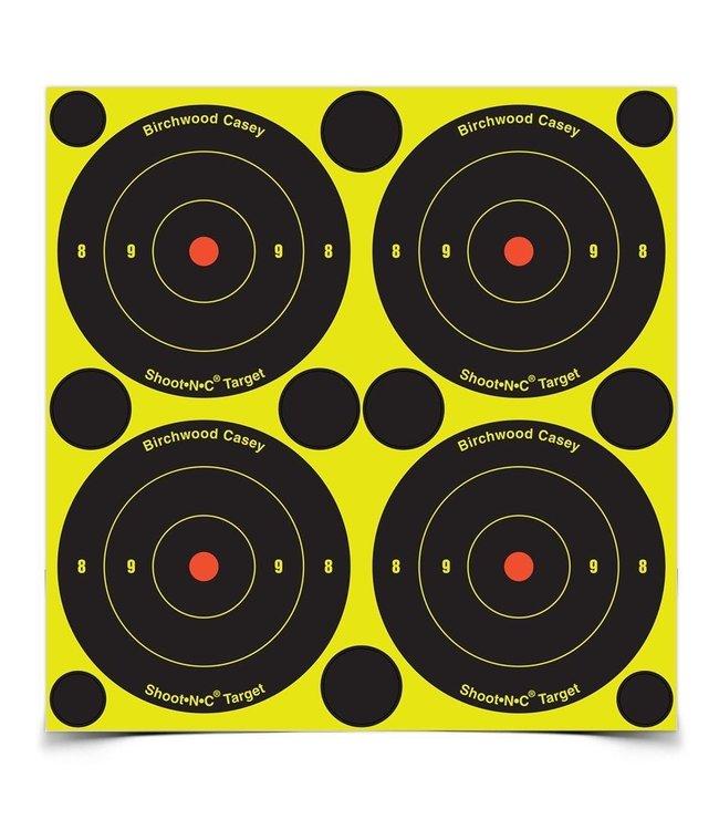 """Birchwood Casey Shoot-N-C 3"""" Bull's-Eye - 48 Targets - 120 Pasters"""