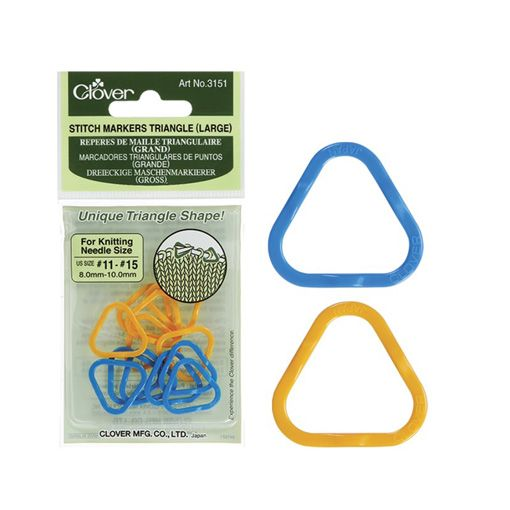 Clover Clover 3151 Large Triangle Stitch Markers