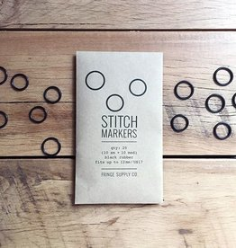 Fringe Supply Co. Black Stitch Markers