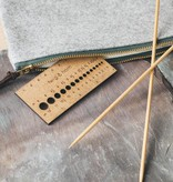 Twig & Horn Twig & Horn Small Gauge Ruler