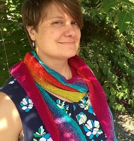 River Colors Studio Swoop Shawl Pattern