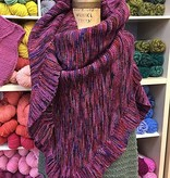 River Colors Studio Sock Yarn Ruffle Shawl Pattern