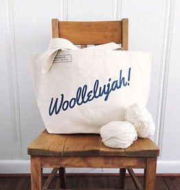 Fringe Supply Co. Woollelujah! Tote Bag - Blue